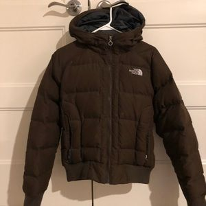 North face winter puffer jacket